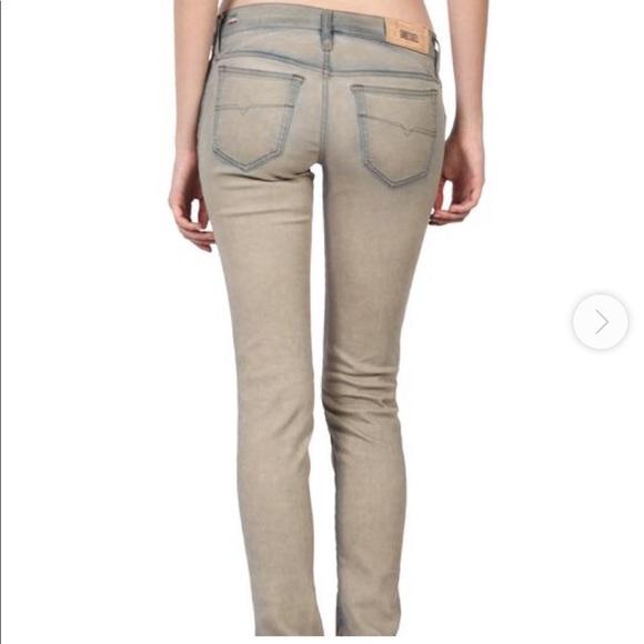 Diesel Denim - Diesel Getlegg Slim Skinny Low Waist Jeans